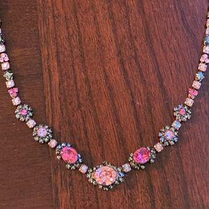 Sorrelli pink necklace